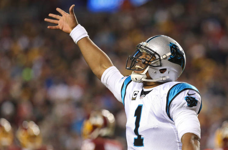 Panthers player Cam Newton