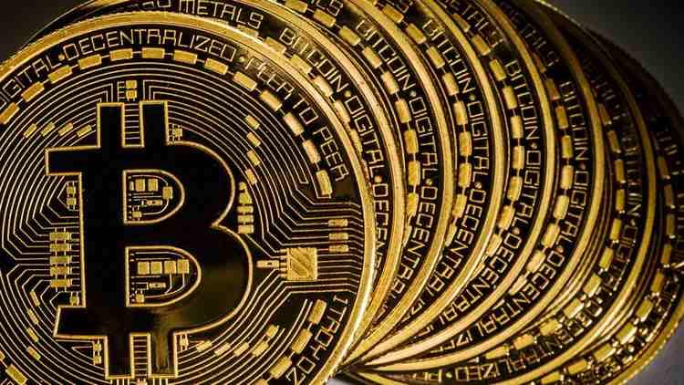 Bitcoin golden coins