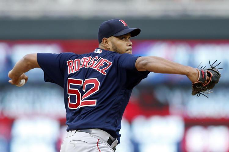 Red Sox pitcher Eduardo Rodríguez