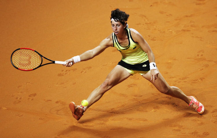 Professional tennis player Carla Suarez Navarro