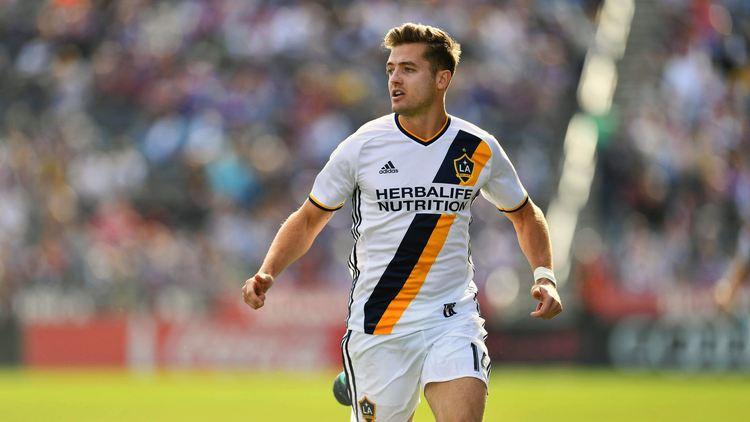 LA Galaxy player in action