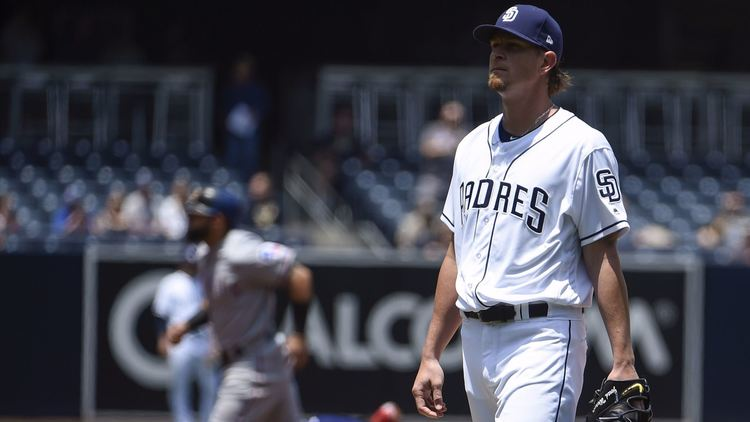 jered weaver padres