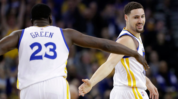 Klay Thompson Draymond Green