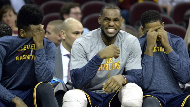 Cavaliers Laughing