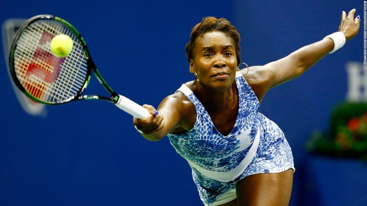 Professional tennis player Venus Williams