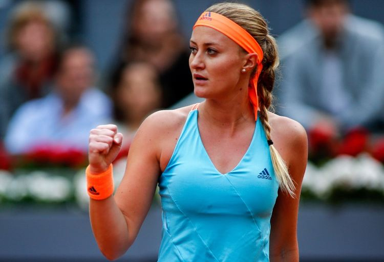 Professional tennis player Kristina Mladenovic