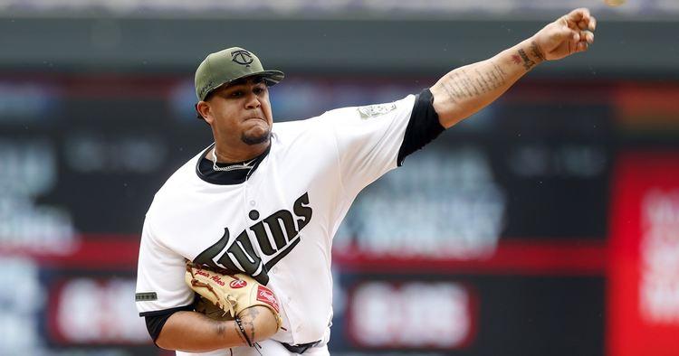 Twins pitcher Adalberto Mejia