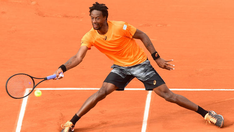 Pro tennis player Gael Monfils