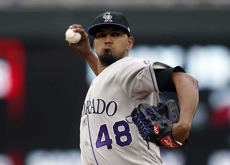 Rockies pitcher German Marquez