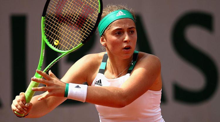 Professional tennis player Jelena Ostapenko