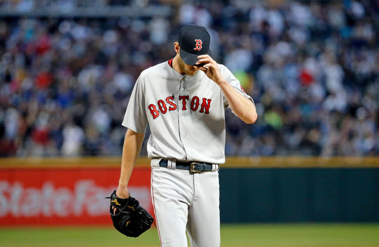Red Sox pitcher Chris Sale