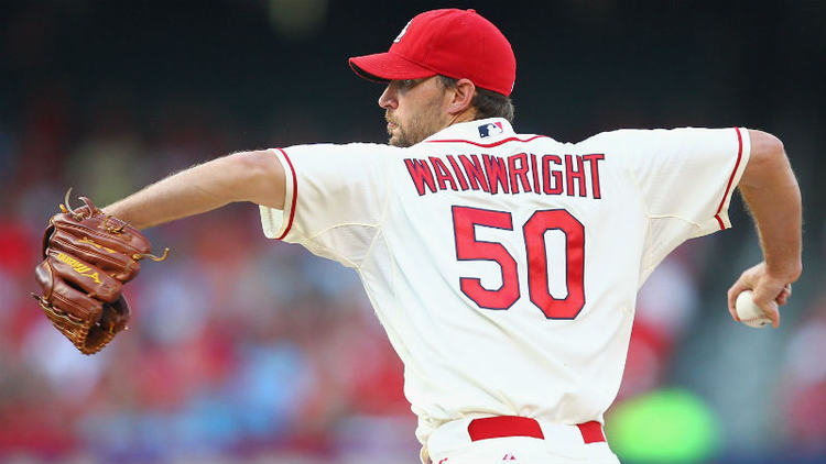 Cardinals pitcher Adam Wainwright