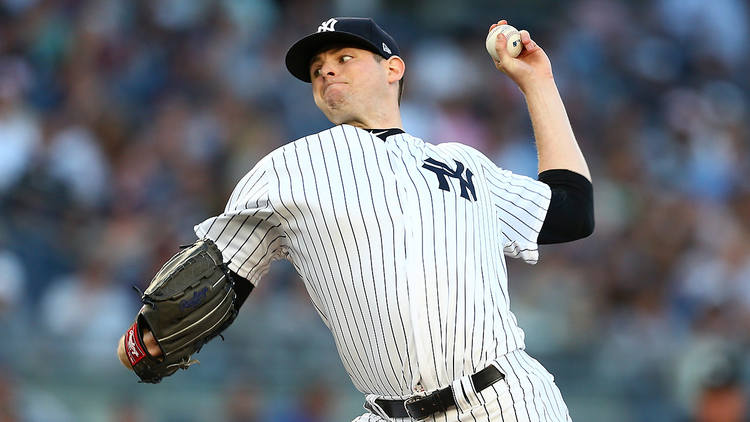 Yankees pitcher Jordan Montgomery