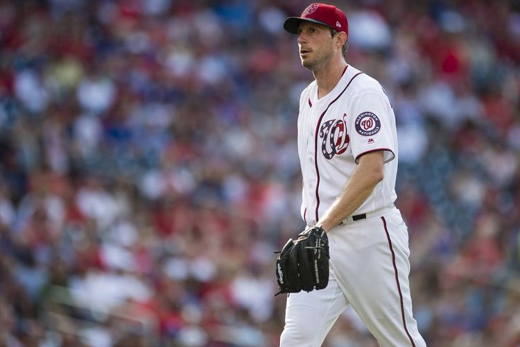 Nationals pitcher Max Scherzer