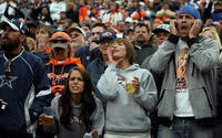 NFL fans to be reckoned with