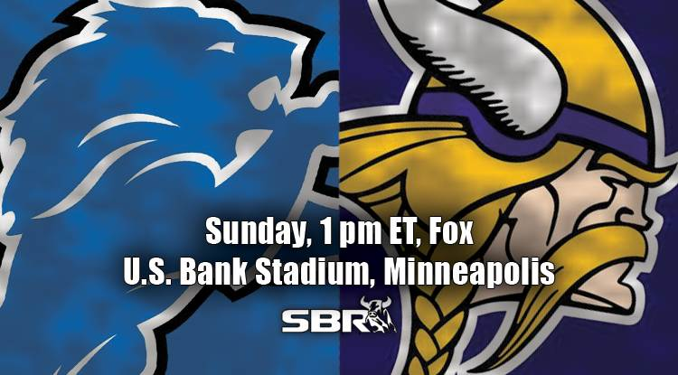 nfl week 4 lions vikings