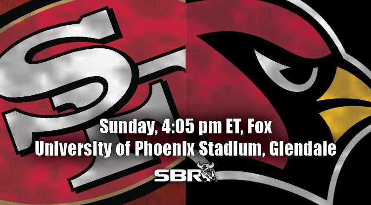 nfl week 4 49ers cardinals