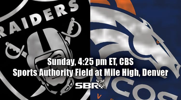 nfl week 4 raiders broncos
