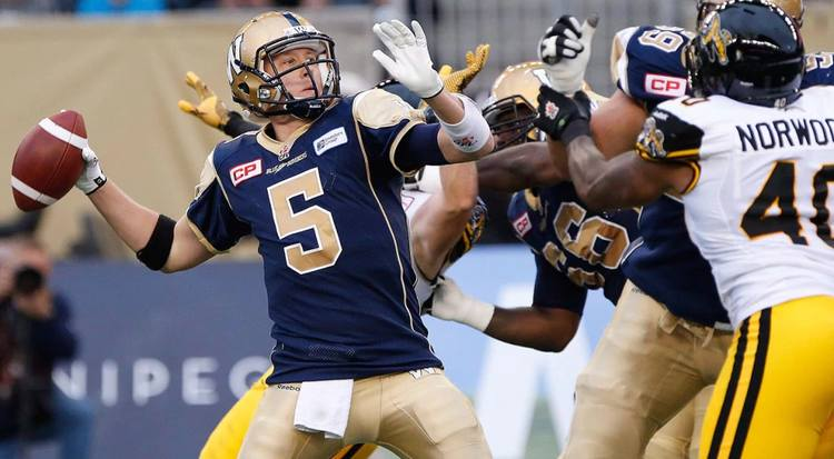 blue bombers tiger cats