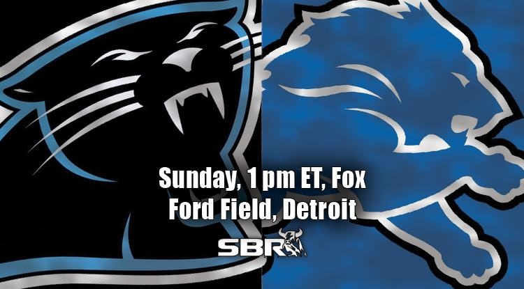 nfl week 5 panthers lions