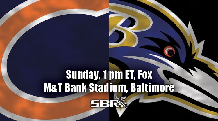 nfl week 6 bears ravens