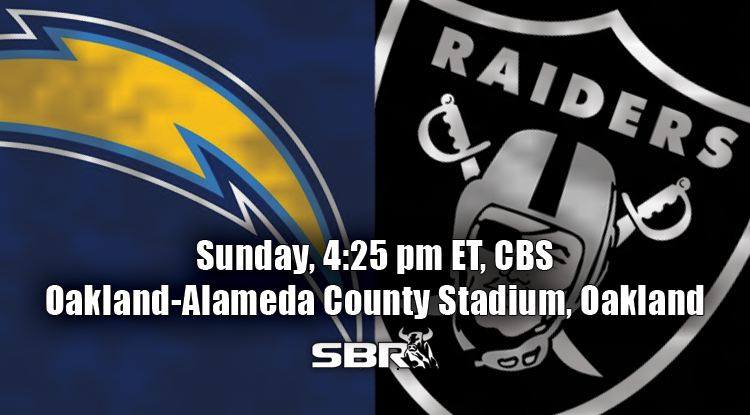 nfl week 6 chargers raiders
