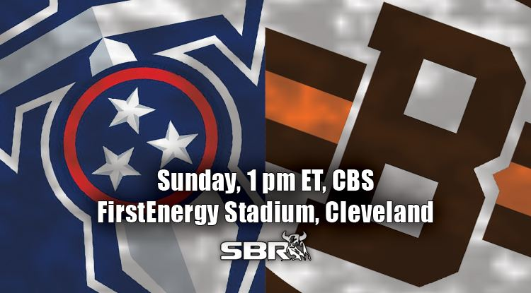 nfl week 7 titans browns