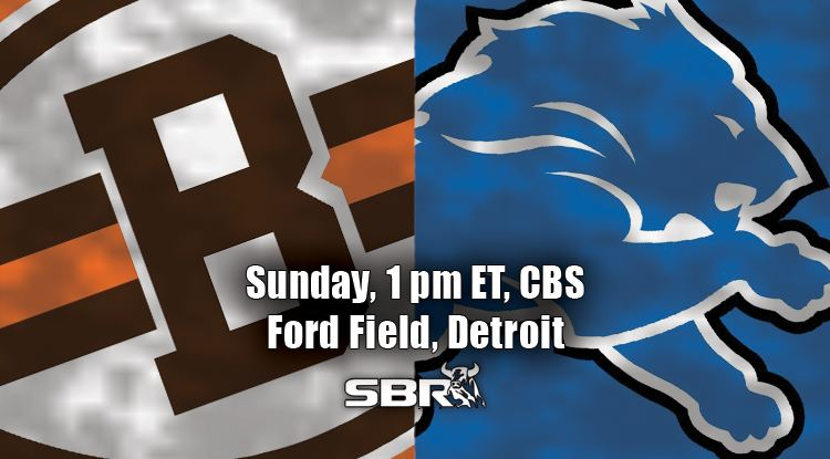 nfl week 10 browns lions