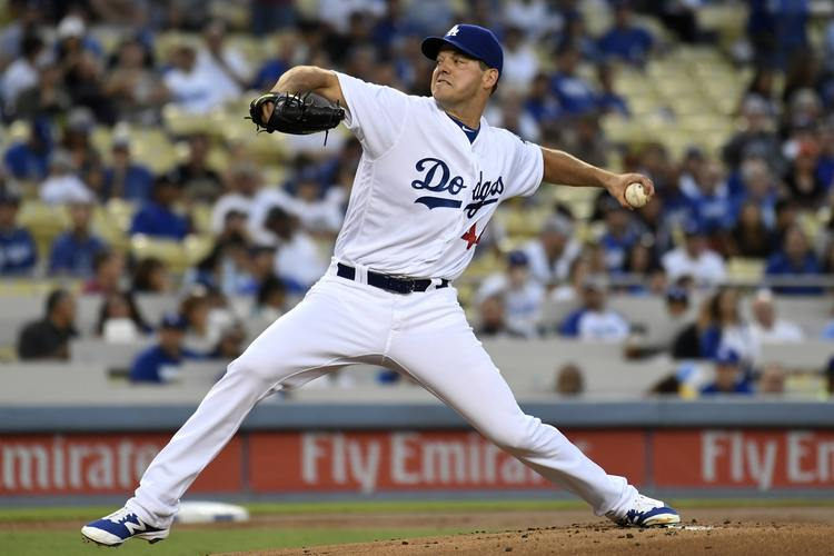 rich hill dodgers