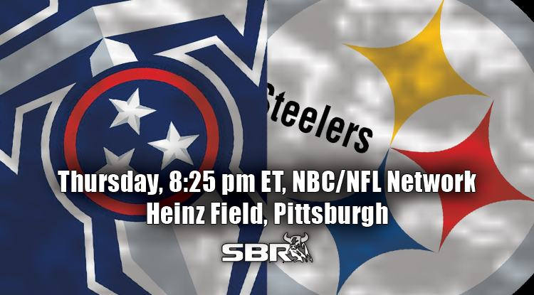 nfl week 11 titans steelers