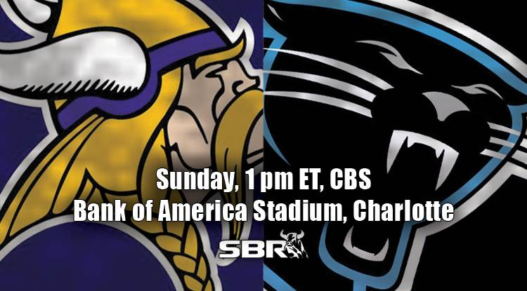 nfl week 14 vikings panthers