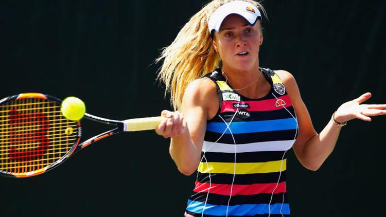 WTA Tour: Top seed Elina Svitolina