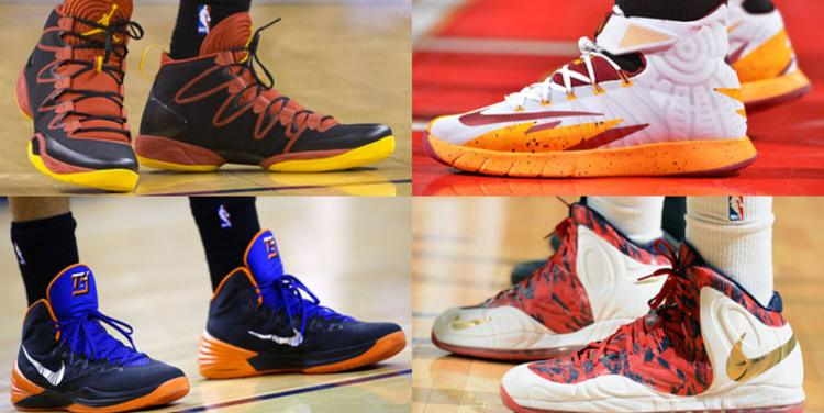 NBA ODDS SHOES