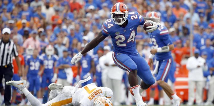 Florida Gators player in action