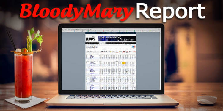 Bloody Mary Betting Report