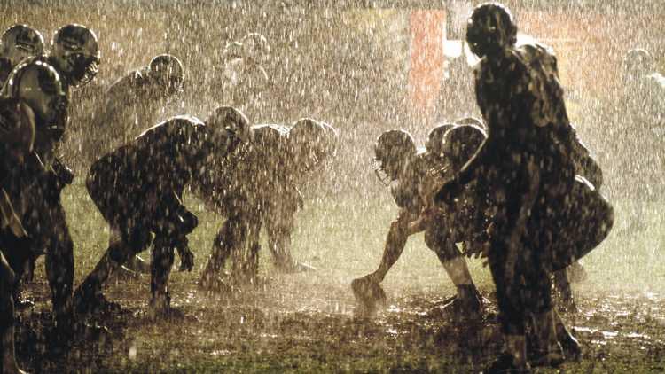 college football mud
