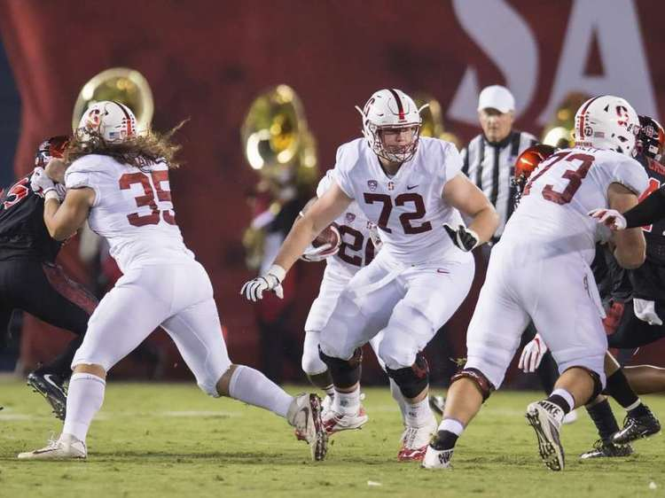 Stanford Cardinal   players in action