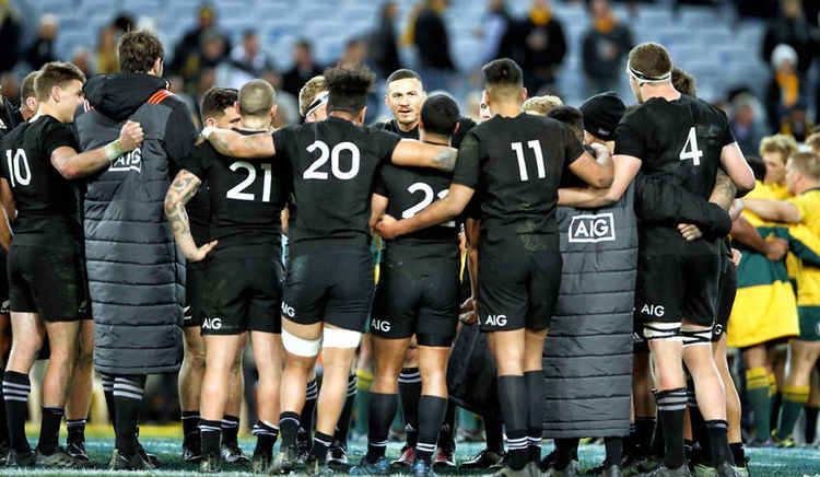New Zealand rugby team