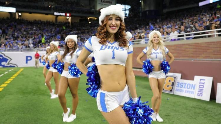 Detroit Lions Cheerleader
