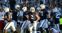 Penn State Nittany Lions players in action