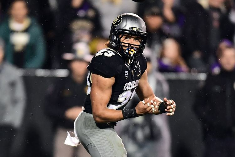 Colorado Buffaloes player in action