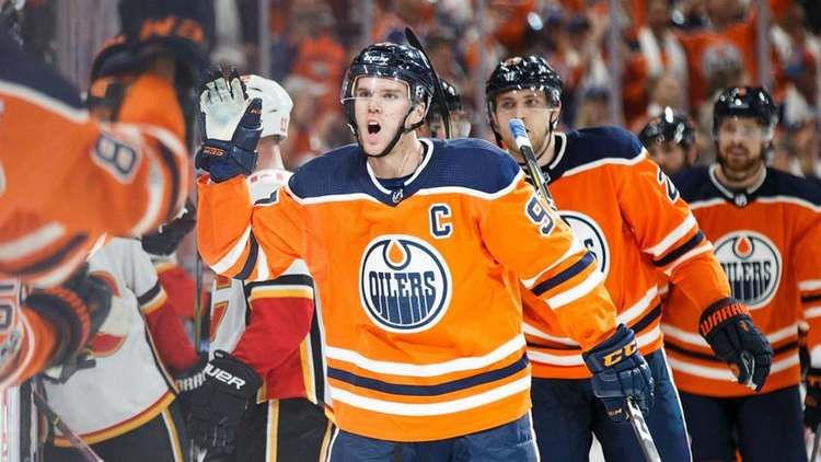 Oilers player Connor McDavid