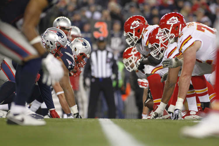 Chiefs vs. Patriots game