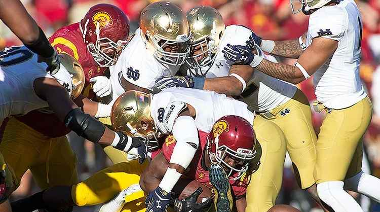 free cfb picks on usc-notre dame