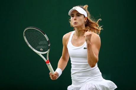 Tennis pro player Alize Cornet