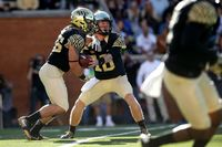 Wake Forest Demon Deacons player in action