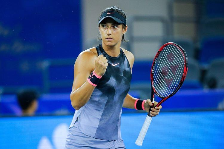 Pro Tennis player Caroline Garcia