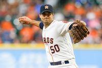 Astros pitcher Charlie Morton