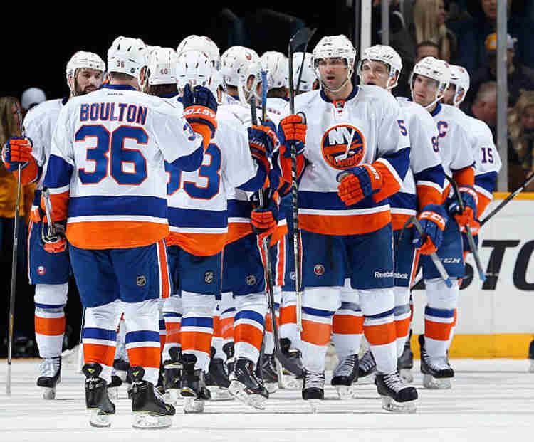 N.Y. Islanders players