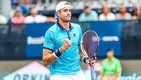 Pro Tennis Player John Isner